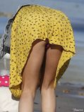 Upskirt Celebs: Selena Gomez's pussy is visible