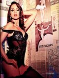 Pérola Faria, atriz de 'Rebelde', posa nua para revista