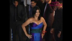 Desi Shotz: Ekta kapoor big boobs bursting out of tight dress!!!