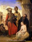 Harem and Odalisque Paintings: Slave Market