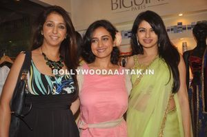 Divya dutta, bhagyashree - (5) - Bhagyashree in Green Hot Saree
