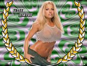 Trish Stratus WWE Diva Wallpaper