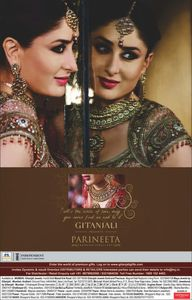 Kareena kapoor Parineeta Wedding Jewellery print ad - Kareena kapoor