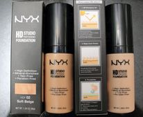 NYX HD Studio Photogenic Foundation review