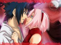 Sakura and Sasuke Red Art Naruto Shippuden Wallpapers on this Naruto