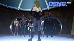 And here are some clips/screenshots from the actual Young Justice