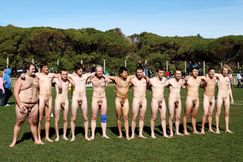 My Own Private Locker Room: Naked rugby team