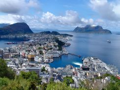 Travel Trip Journey: Alesund, Norway