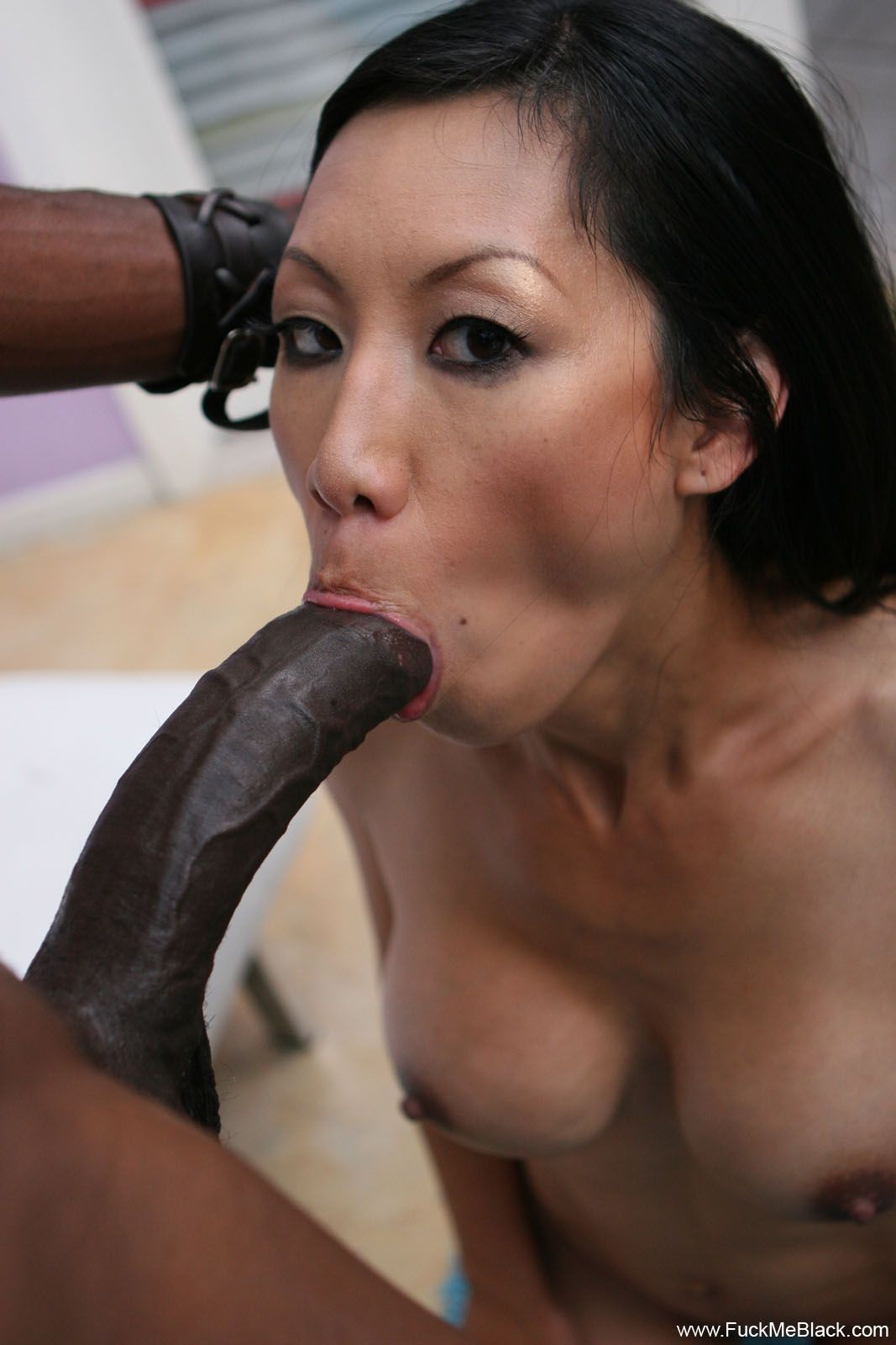 Asian Drilled By A Big Cock