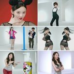 Kang Min Kyung shows off her dance moves for DHC Korea CF ~ Latest K