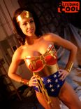 Lee Crosby's Wonder Woman, who didn't seem AT ALL like Wonder Woman