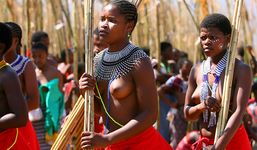 Friday News: Zulu virgins dance naked for king