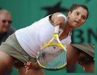 Sania Mirza Forgot to wear Underwear Sex Picture