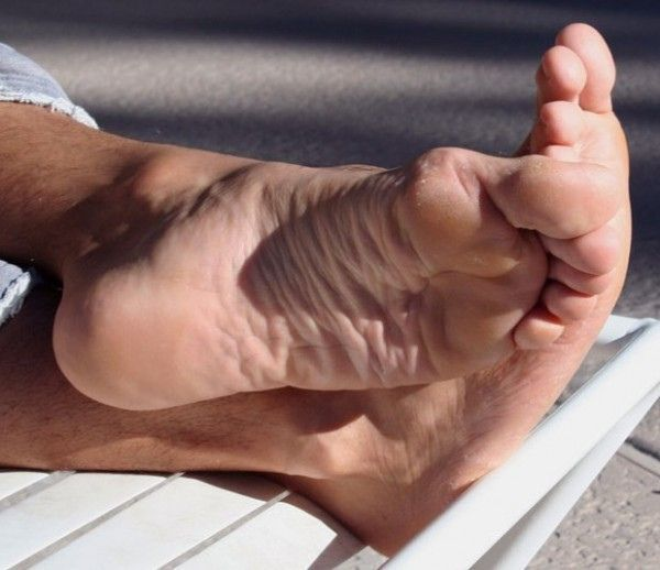 Barefeet On Table
