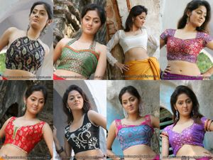 Indian Girls Images, Indian Traditional Saree Blouse New Design Photos