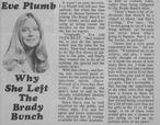 Eve Plumb Teen Beat Interview