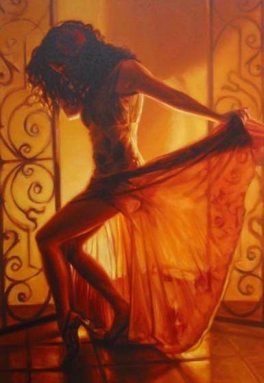 Rubia Bailando
