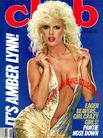 Amber Lynn on the cover of Club Magazine