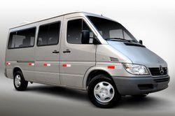 Van Sprinter da MercedesBenz é destaque pelo conforto e requinte no