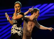 The MTV EMA 2011 gave us an eyefulwhen a nude dude jumped on stage