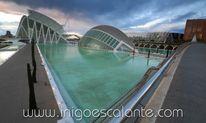 Viaje Ciudad Las Artes Ciencias Valencia Amanecer
