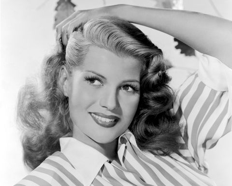 del avion borracha ajada y sola era rita hayworth una rita muy