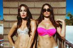 Bella Twins Divas Hot WWE Nude Sexy Sex Bikini