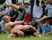 SoupGoblin's Stash: Turkish Oil Wrestling