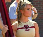 College Cheerleader Heaven: Boston College Cheerleaders for the Win