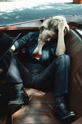 Chloe Moretz By Craig Mcdean Photoshoot For W Magazine 2013