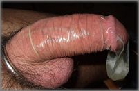 The Male Cock with beauty: 16th Cum in condom