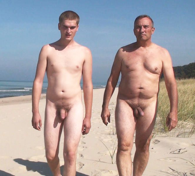 Dad Son Nudity