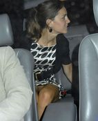 The no panties upskirt Kate Middleton vagina flash photo above has