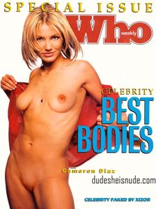 Cameron Diaz Nude in a Magazine | Dude She is Nude