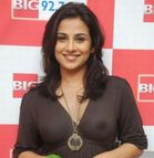 Latest Celebrity: Vidya Balan braless nipple showing