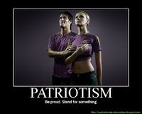 MOTIVATIONAL POSTERS: PATRIOTISM