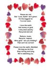 Valentine Verses, free to use on cards