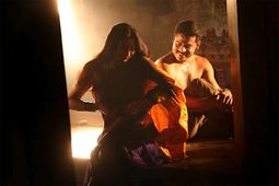 Chennai: TAMIL GLAMOROUS ACTRESS SANGEETHA SEX SCENES IN DHANAM MOVIE
