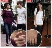 Here are some pictures of Selena and Justin chasing after an ice cream