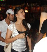 Jacqueline Fernandez And Ritesh Deshmukh At Housefull Film Promotion