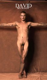 Naked David Beckham Shows His Cock – Fake Nude Photos