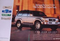 1997 lexus lx 450 magazine ad old magazine ads  Lx Magazine � Photo