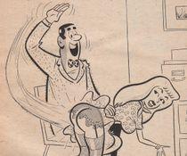 Vintage Sleaze Spanking #2