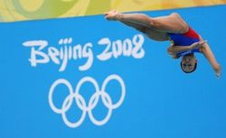 in Springboard Diving at the Beijing Summer Games | best beauty pic II