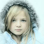 Innocent Beauty of Little Girl