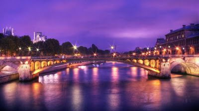 Feeling Purple In Paris