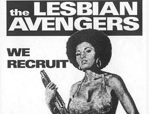 of Queer America: The 90s: Queer Nation and the Lesbian Avengers
