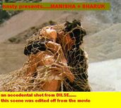Manisha Koirala Boob Slip: An Accidental Censored Shot From Movie Dil