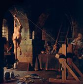 the strappado the most common form of torture was the strappado the
