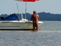 Gibby's Fishing Blog: Naked guy loves to boat